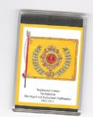 ARGYLL & SUTHERLAND HIGHLANDERS COLOURS FRIDGE MAGNET L